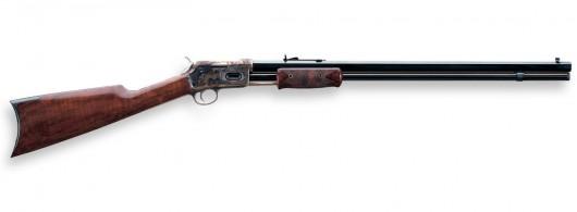 1844 Lightning Short Rifle - CASE-HRDENED, OCTAGONAL BARRELL