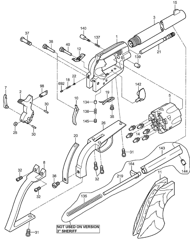 1873 CATTLEMAN NEW MODEL BLACK POWDER MUZZLE LOADING | Uberti ...
