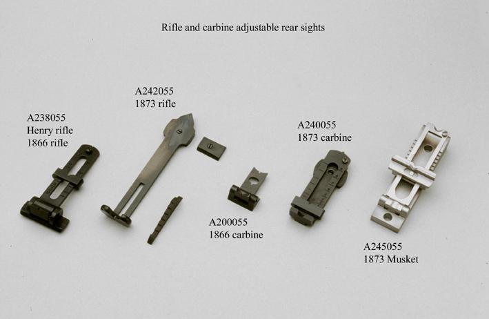 Winchester 1866 (répliques UBERTI) Carbine et Short Riffle - Page 2 144-RearSights_115424